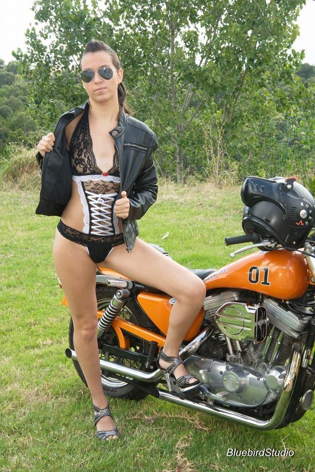 Shooting GLC en Harley Davidson