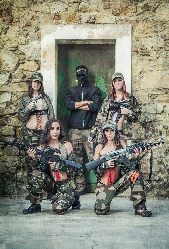 Un shooting sur le thème militaire by Thomas RICCI