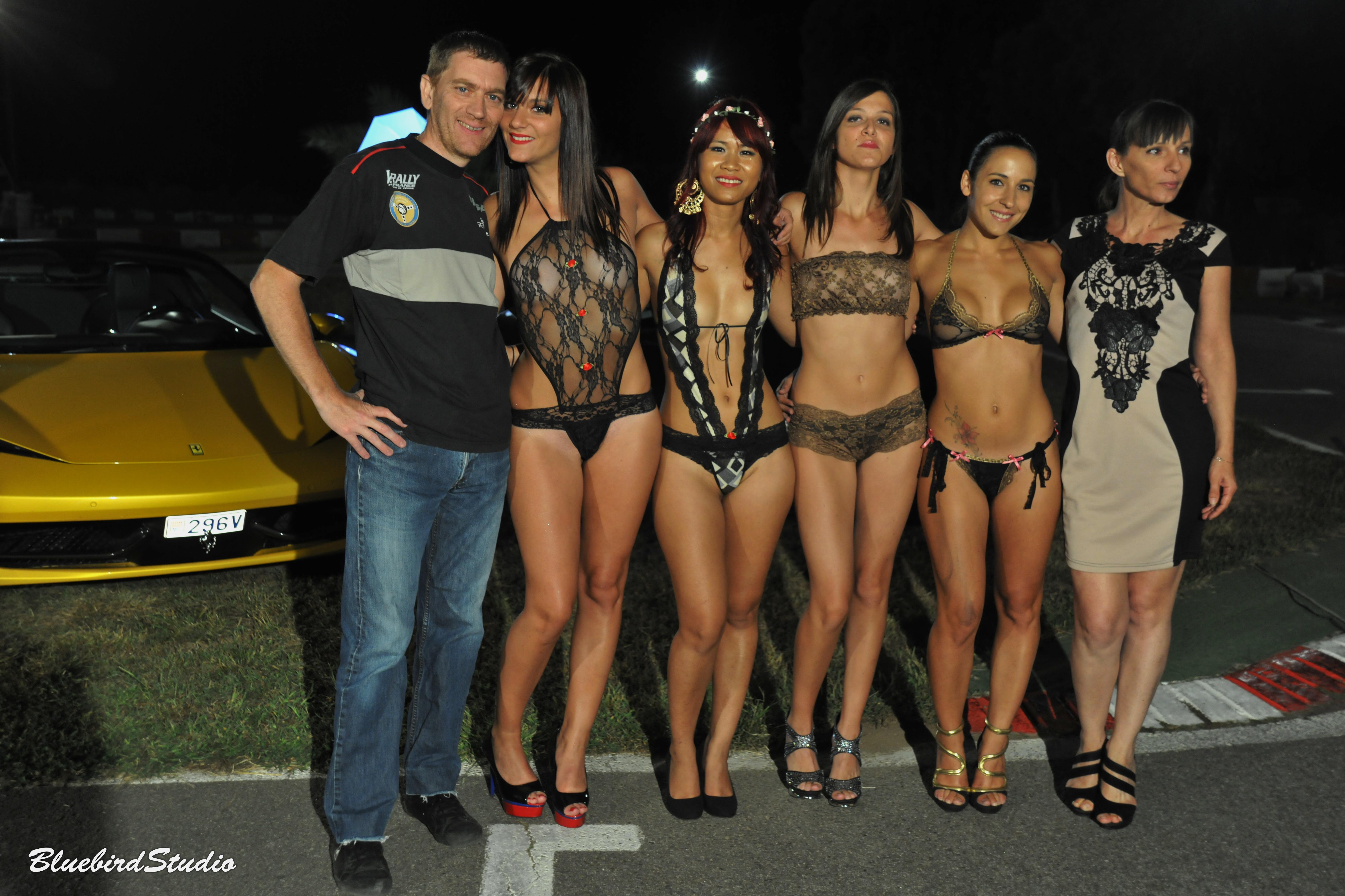 Sexy dream GLC au karting de la gravona