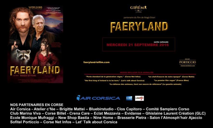 Sortie du film FAERYLAND !