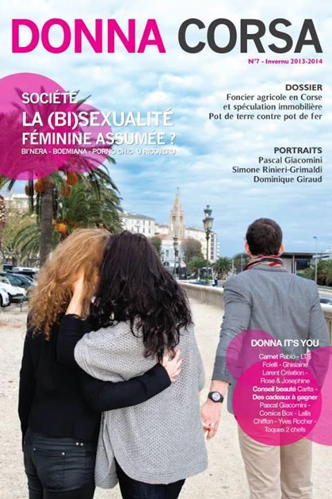 Article sur la marque GLC dans le magazine DONNA CORSA